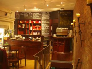 Sacred cafe