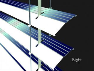 Solar blinds