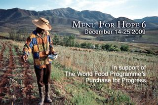 Menu for hope 6