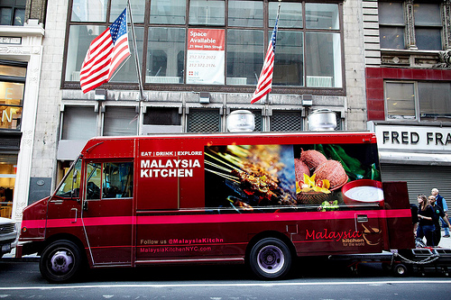 Beef Rendang On Last Day For Malaysia Kitchen Food Truck New York November 19
