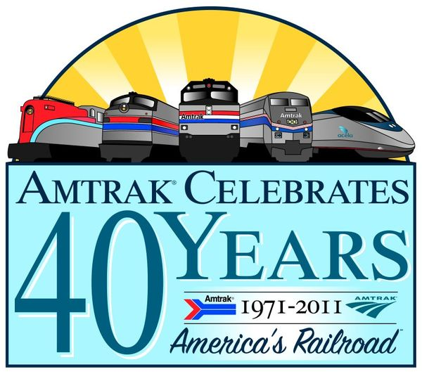 Amtrak Exhibit Train Whistle Stop Tour Celebrates Amtrak