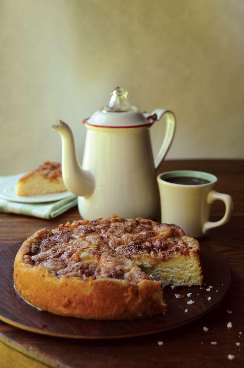 Peachcoffeecake