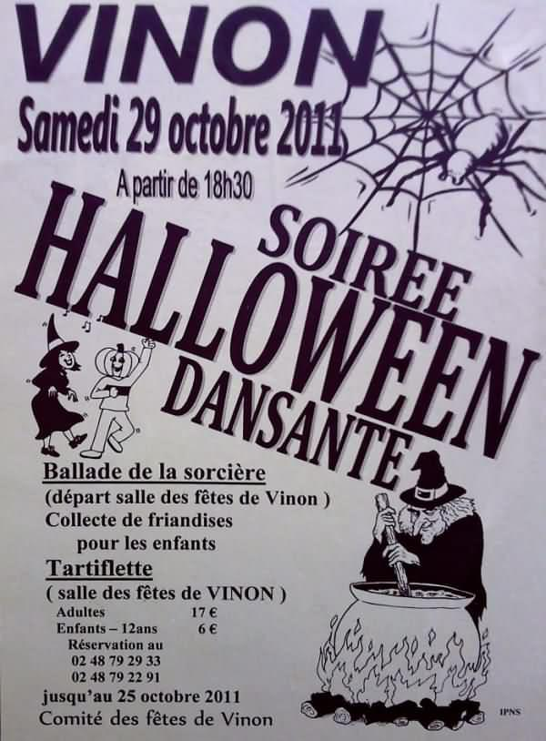 Soiree halloween sancerre