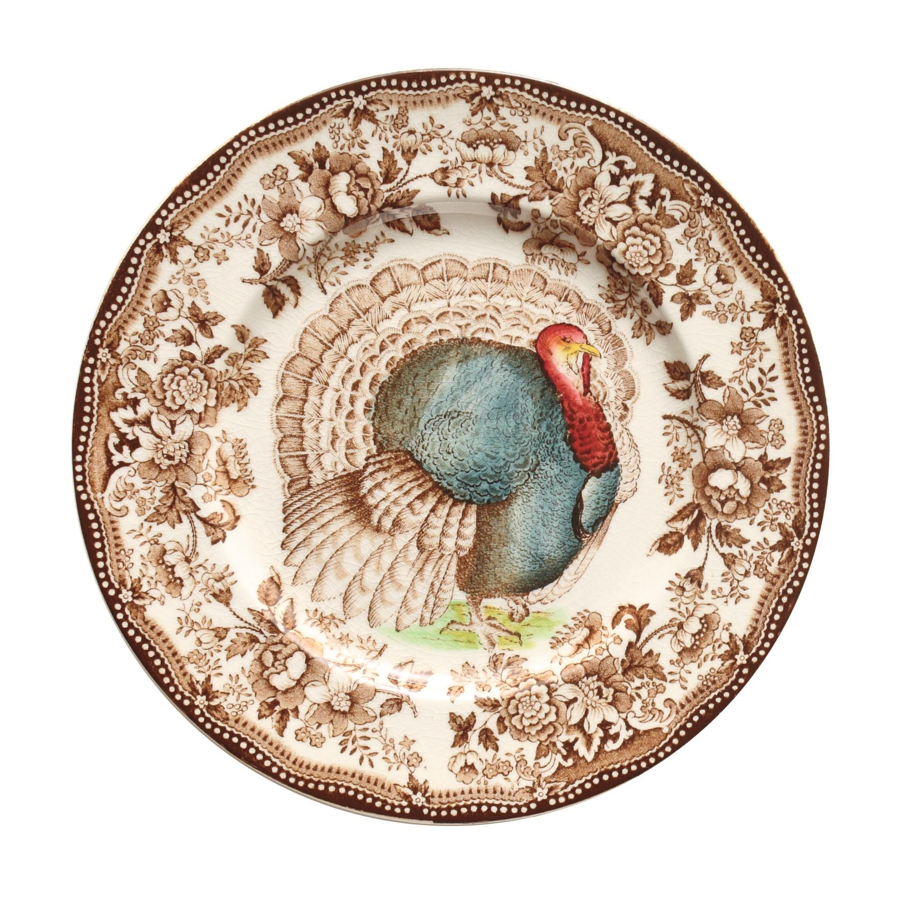 Staffordshire Plate (2)  sc 1 st  Serge the Concierge & Tableware Sets the Stage for Thanksgiving and Holiday Meals Dish by ...