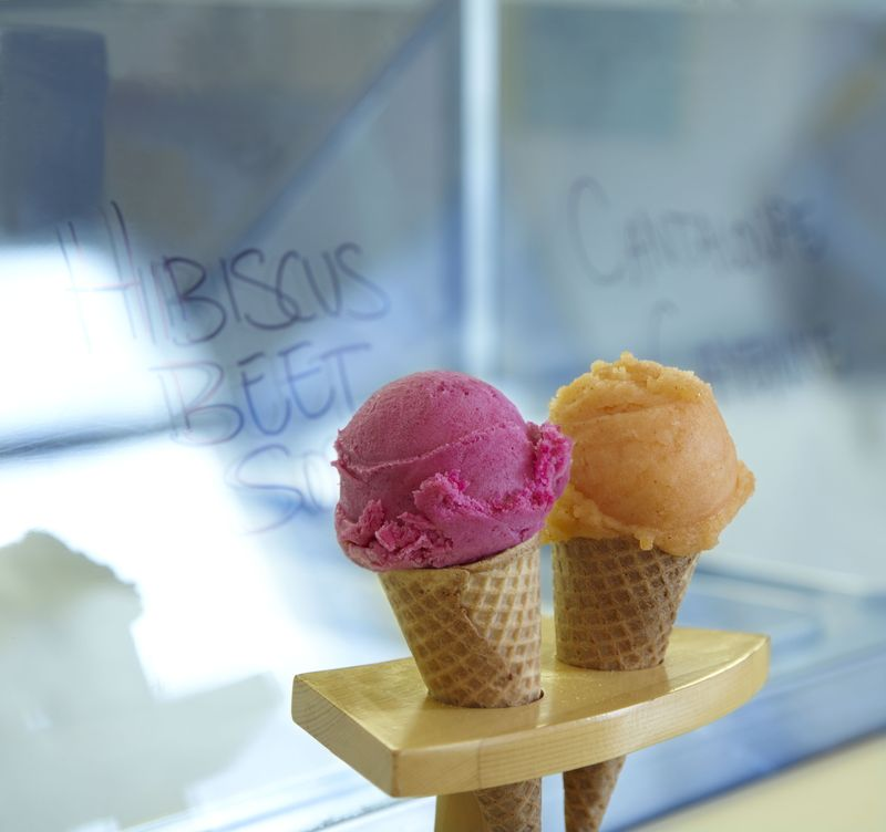 Humphry Slocombe_Hibiscus Beet and Cayenne Cantaloupe