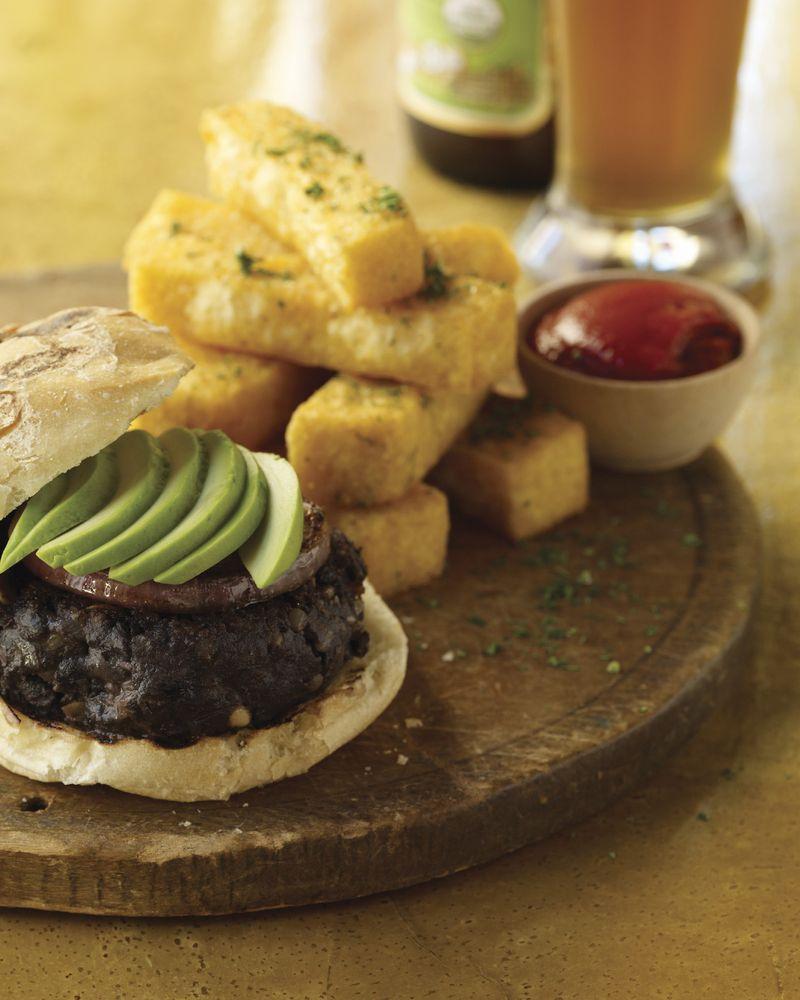 Black Bean Chipotle Burgers image p 97 (2)