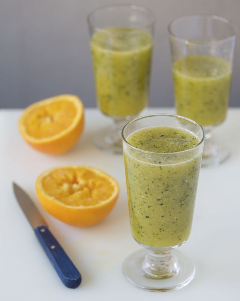 Morocco_Chilled Cucumber and Orange Juice