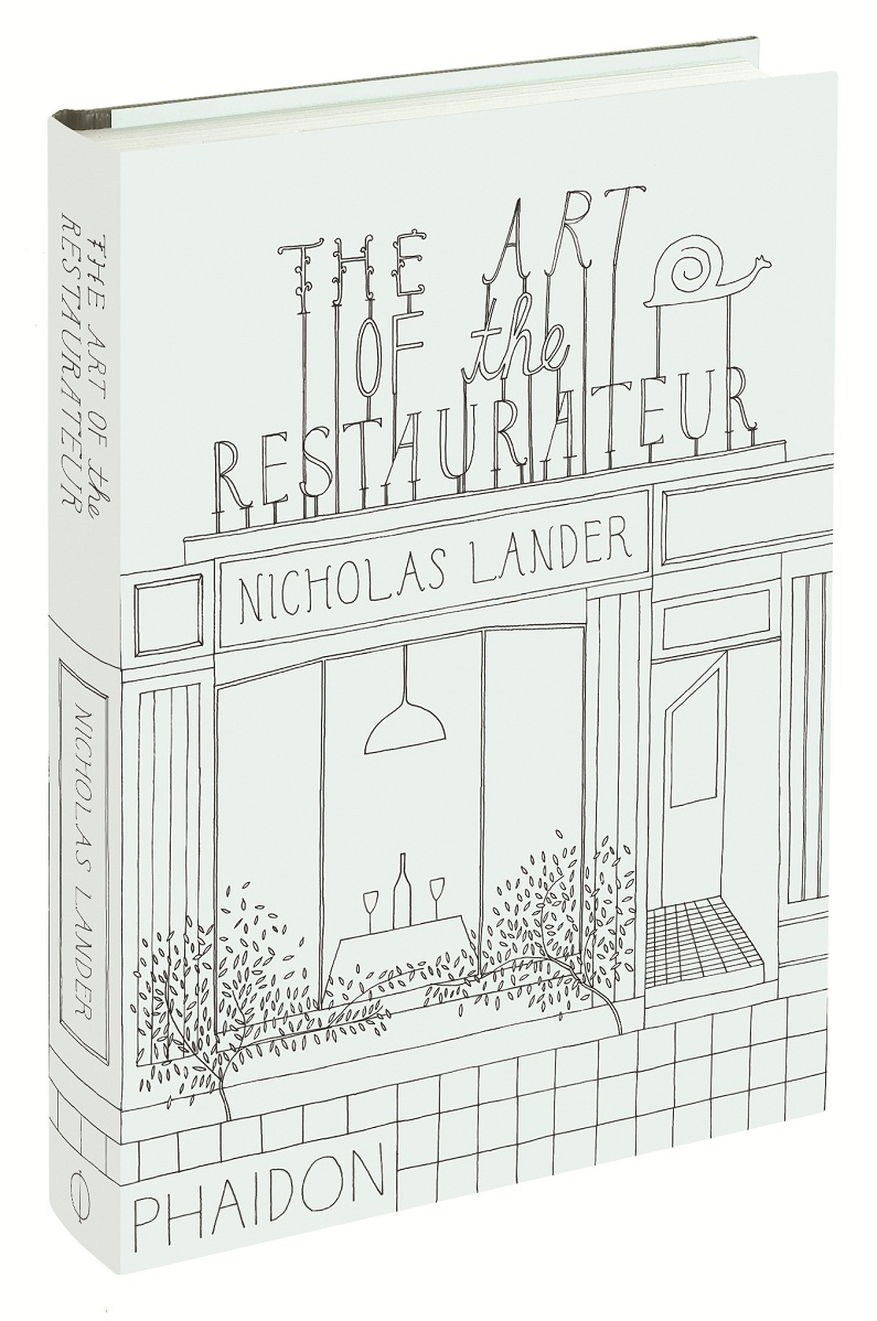 ART OF THE RESTAURATEUR book shot