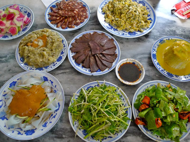 Gastronomic tour china