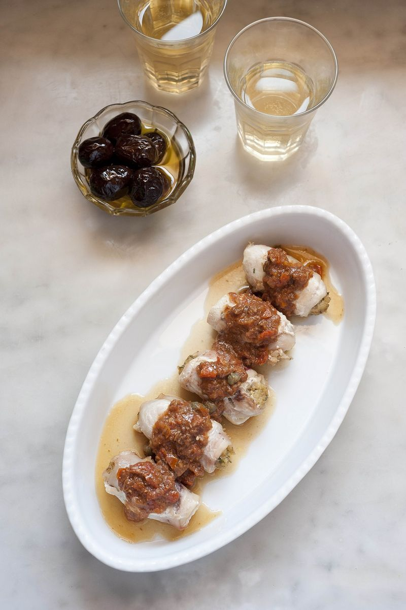 Involtini di Spada, Messina Style Swordfish Rolls from 'Sicily ...