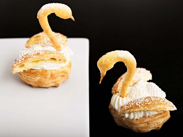 bal des swans graceful chantilly cream filled pate a
