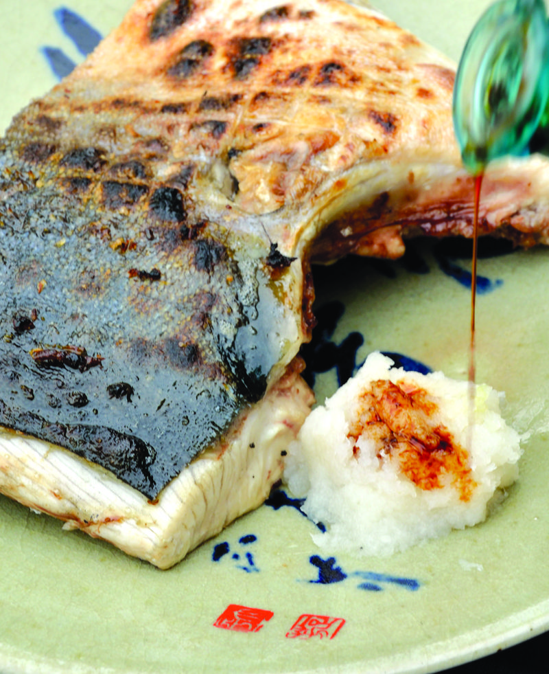 Your Fish by the Collar, Buri Kama, Charcoal-Grilled Yellowtail Collar ...