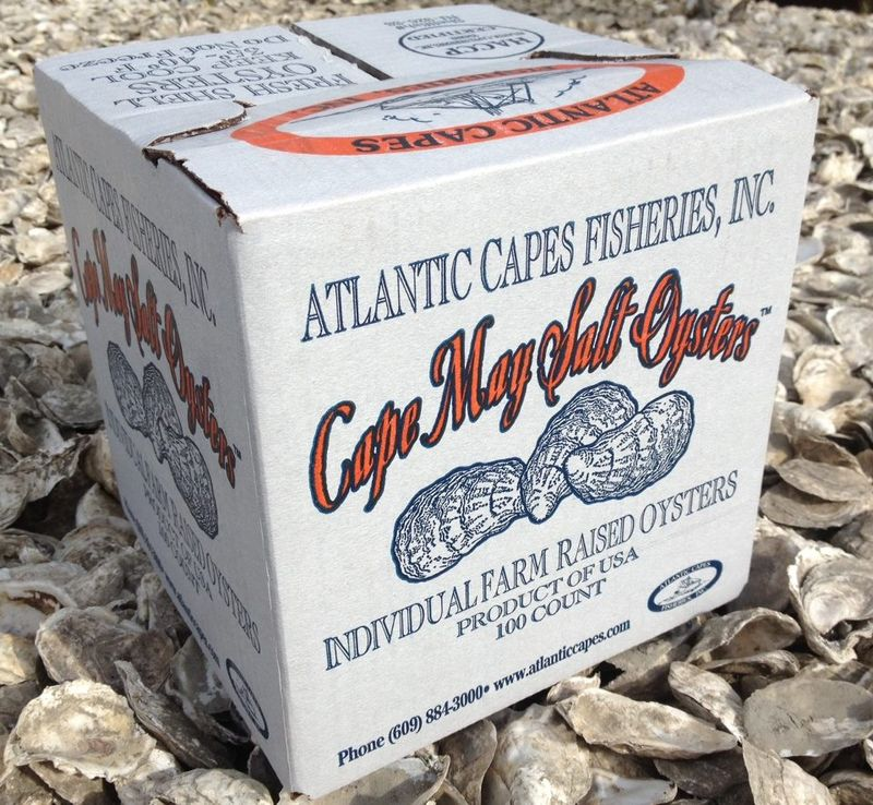 Cape may salt oysters