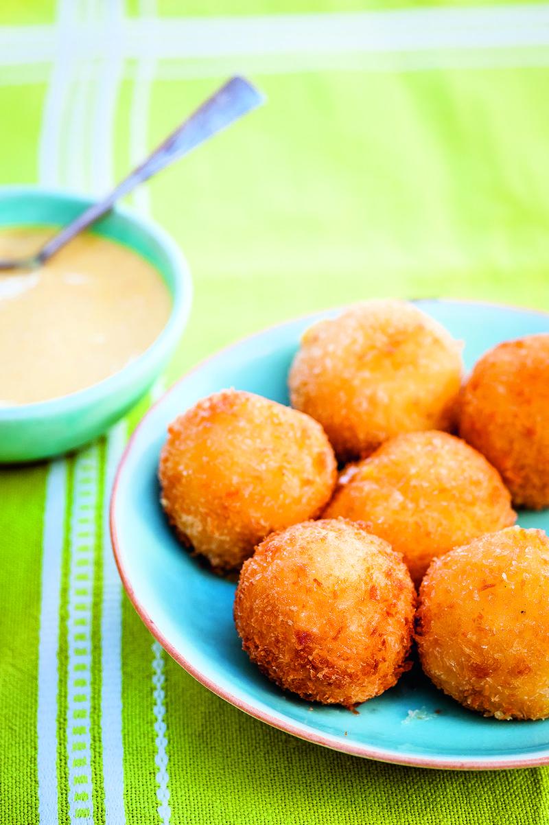 CPKT Bolas de Yuca - Cassava and Cheese Croquettes image p 47