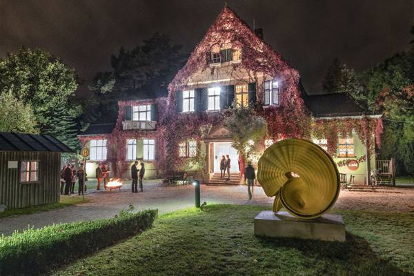 Haus am Waldsee by Night
