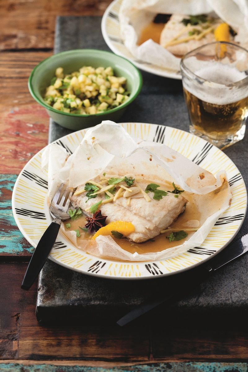 Steamed Fish with IPA