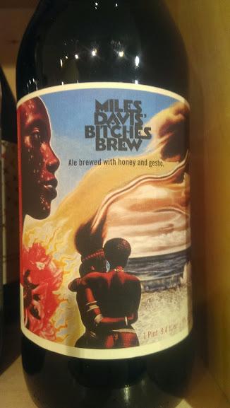Bitches brew beer