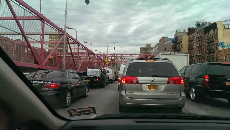 Williamsburg Bridge Slow Crossing