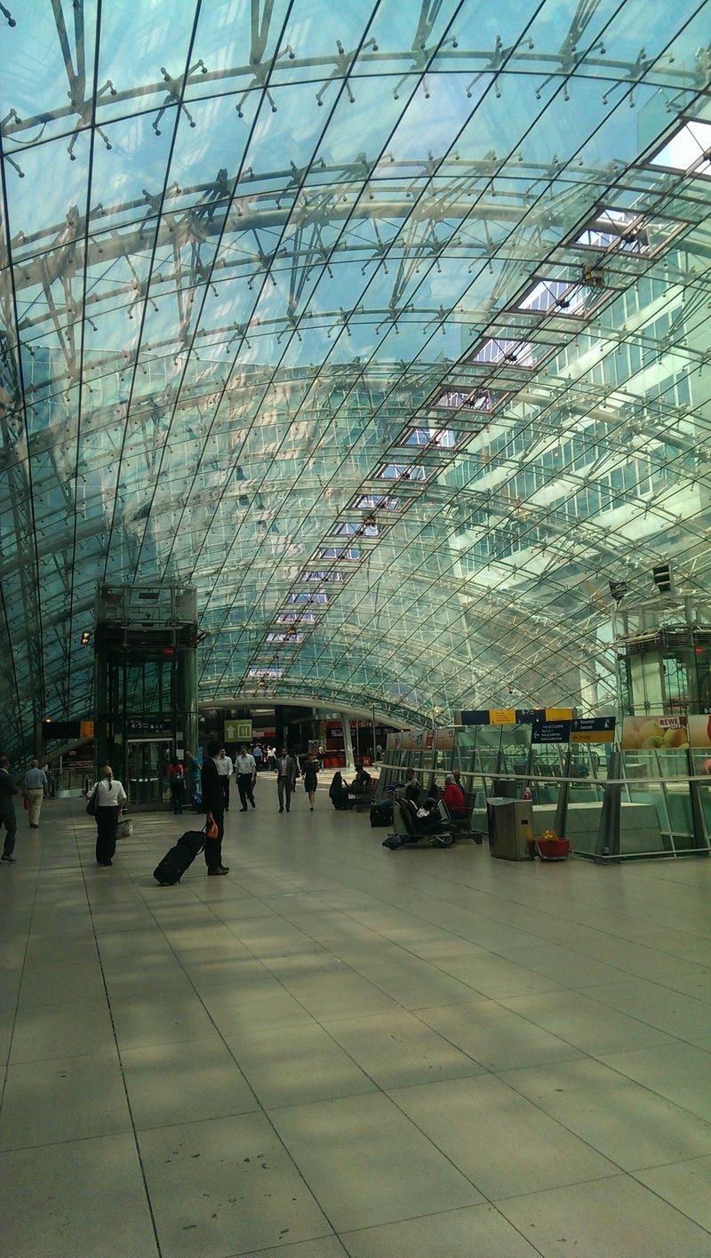 Frankfurt airport bahnhof