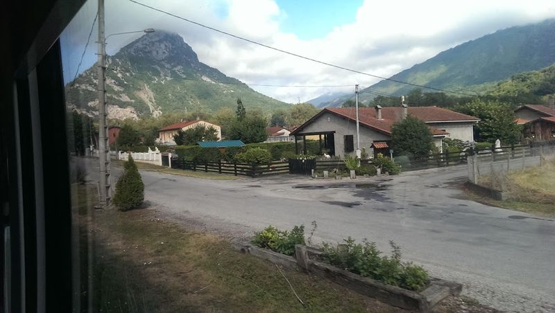 Photo 2, Pyrenees vues du Train