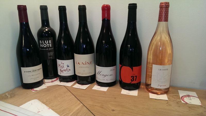 Curated wines farinata
