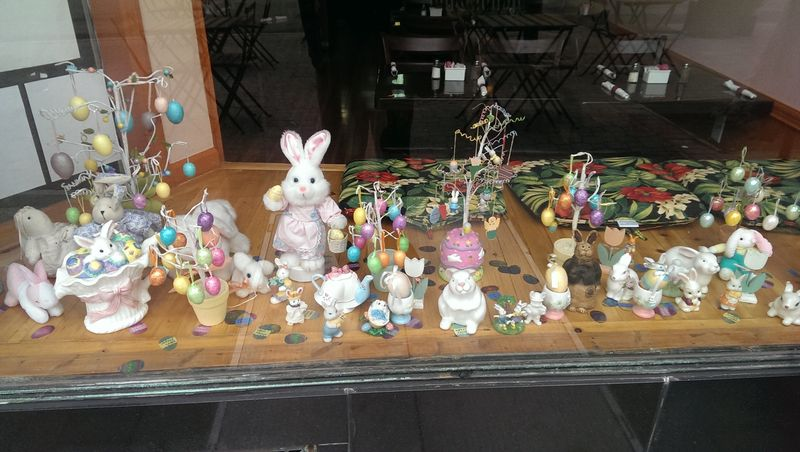 Many bunnies