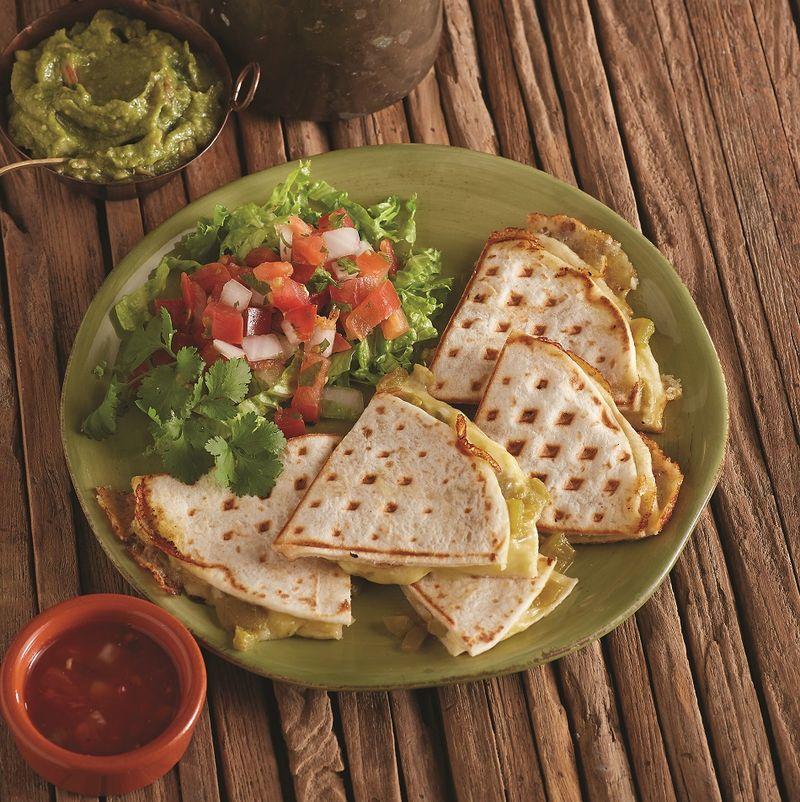 Waffle Quesadillas