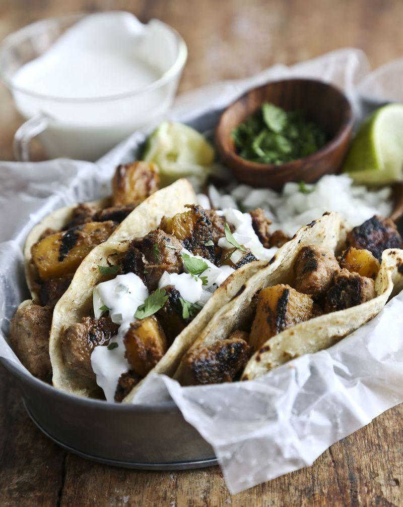 58 tacos al pastro