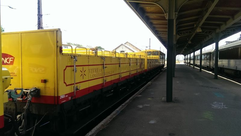 Open Car Le Train Jaune