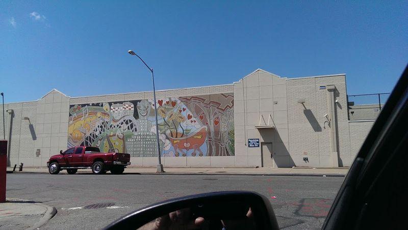 Recycling mural brooklyn