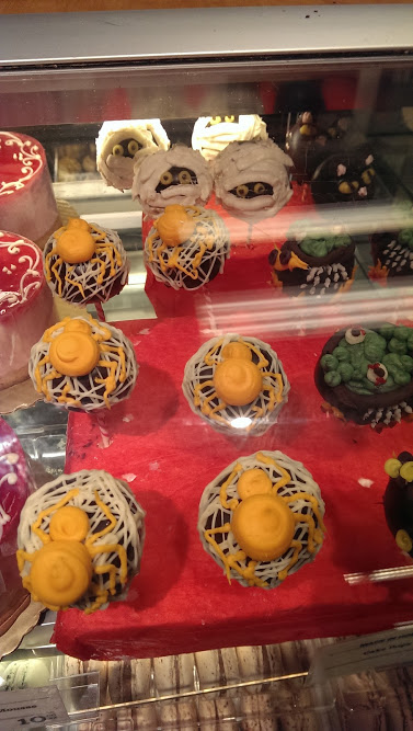 Eat Scary, Halloween Cake Pops at My Local Whole Foods