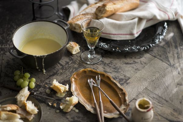 something to save for cold evenings comte cheese fondue from luke nguyen 39 s france cookbook. Black Bedroom Furniture Sets. Home Design Ideas