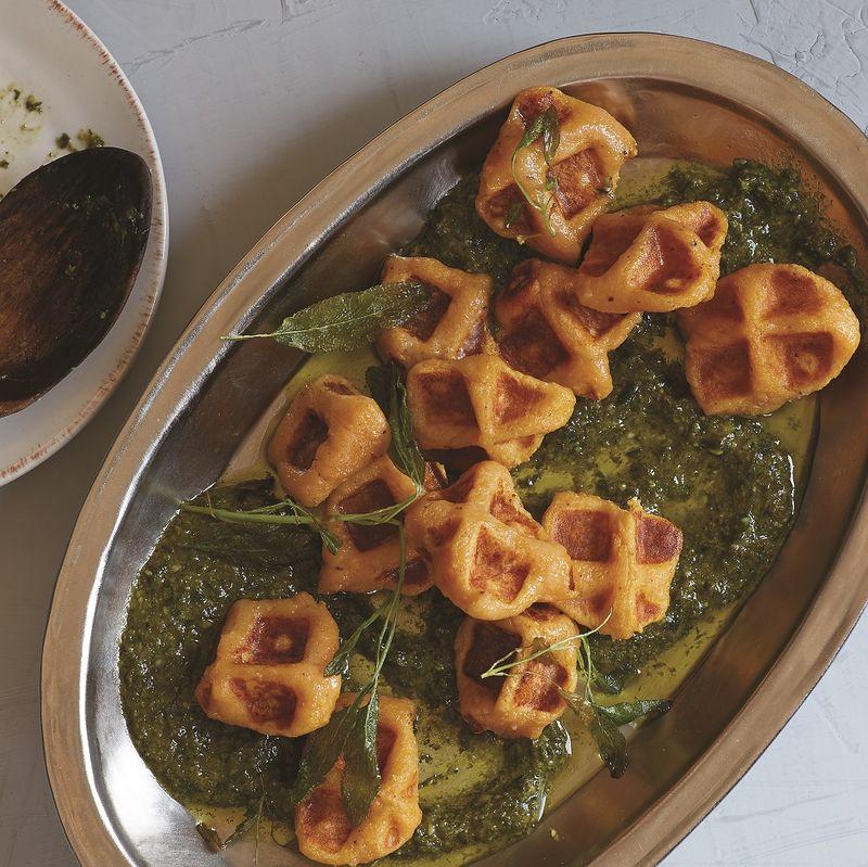 Waffled Gnocchi