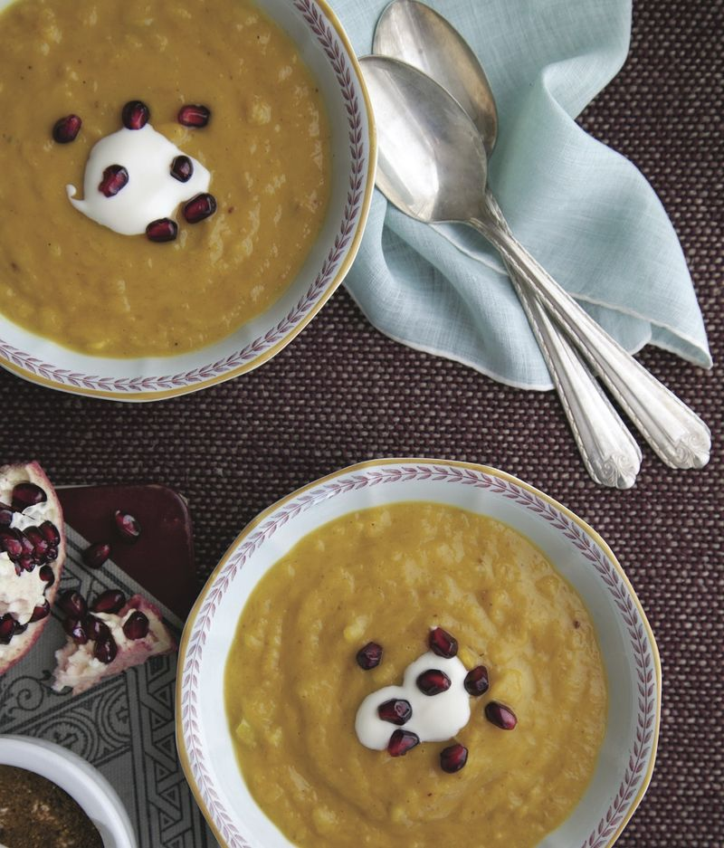 Golden Butternut Squash Soup