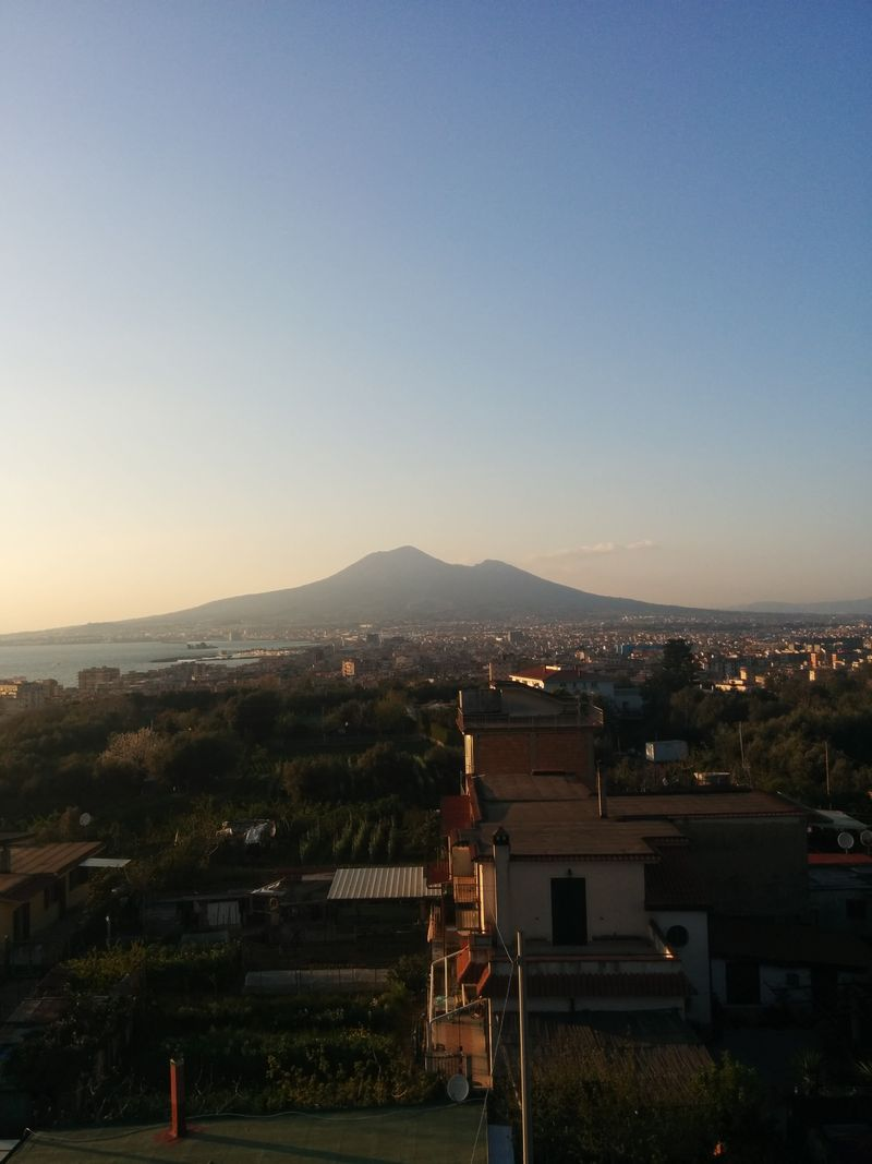Vesuvius in Distance, April 2015