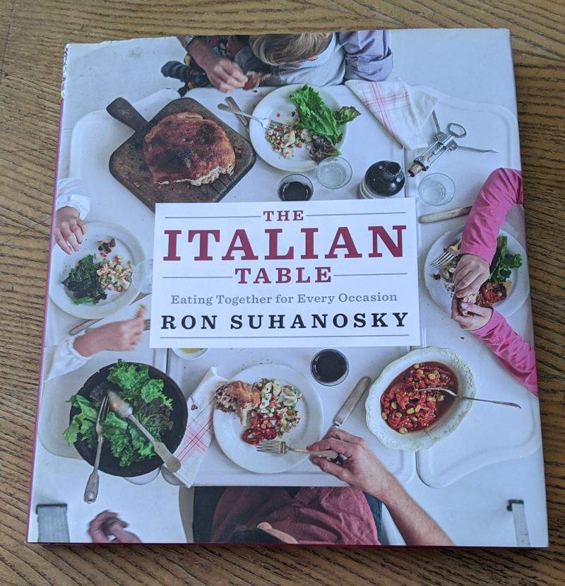 Italian table ron suhanosky