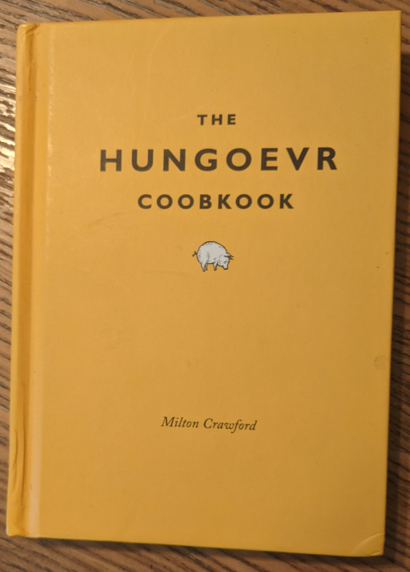 Hungover cookbook