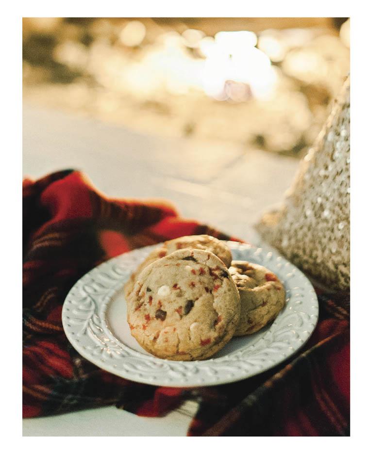 Peppermint bak cookies