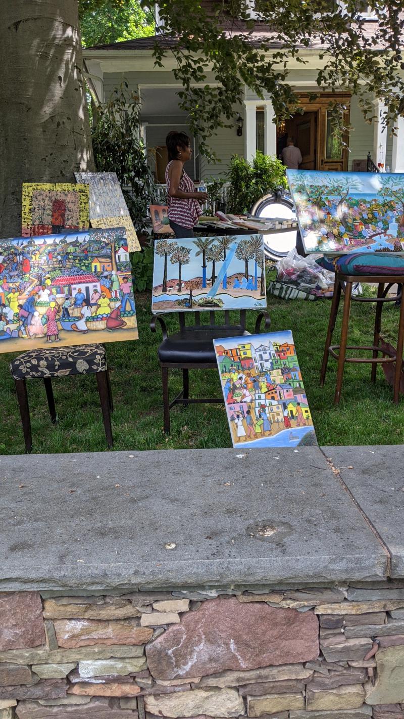 Yard Sale Paintings